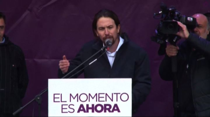 Spagna, decine di migliaia in marcia a Madrid con Podemos   ...