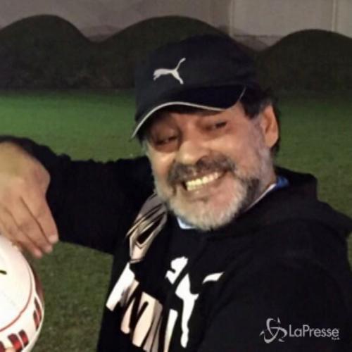 Maradona e Rocio Oliva: Ci amiamo e ci alleniamo