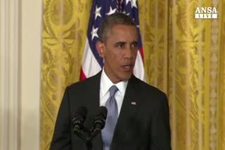 Obama presenta budget con piu' spese,scontro con destra     ...