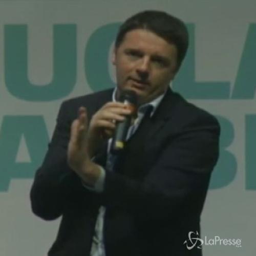 Renzi: Ok patto stabilità, siamo fra i primi. Ma se crolla scuola che stabilità è