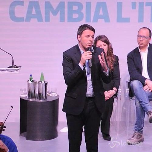 Renzi: La Rai non può essere governata da legge intitolata a Gasparri