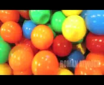 Trasforma la casa in una piscina di palline