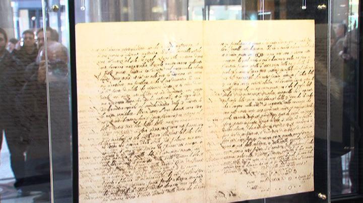 Roma, alla Galleria Sordi la lettera di Galileo Galilei del ...