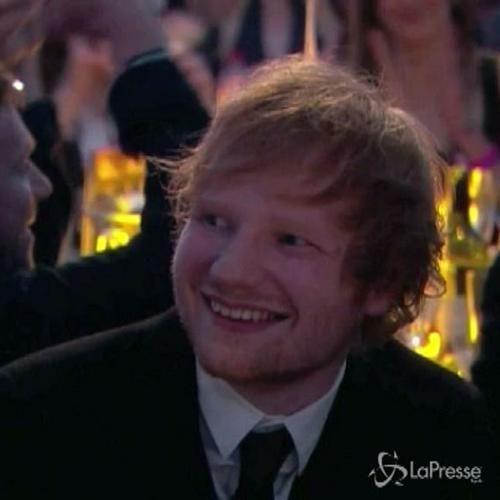 Ed Sheeran trionfa ai Brit Awards, premiate anche Paloma ...