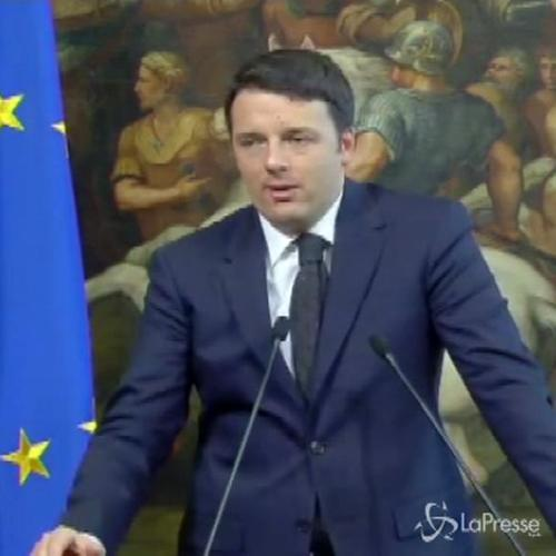 Renzi incontra Stoltenberg: In Libia violazione pace come ...