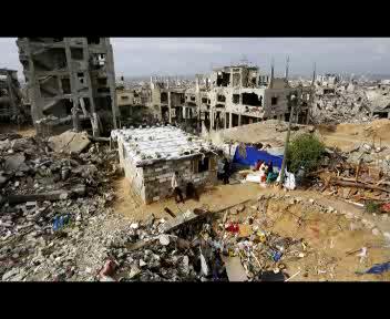 """Oxfam lancia l'allarme: """"Cent?anni per ricostruire Gaza?    ..."""