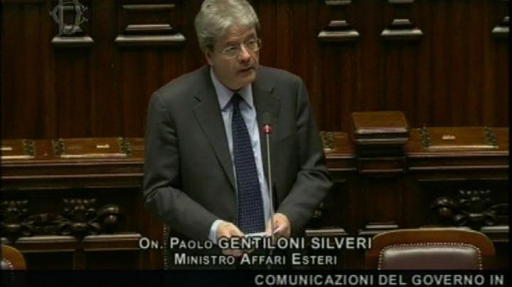 Gentiloni: governo lavora per risolvere situazione marò    ...