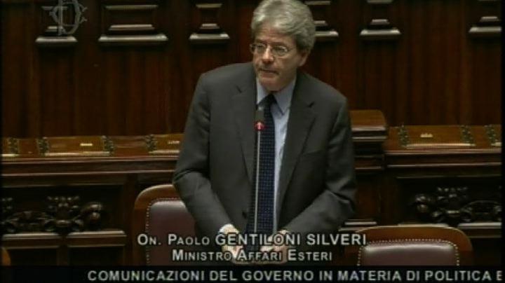 Gentiloni: Italia impegnata contro traffico esseri umani    ...