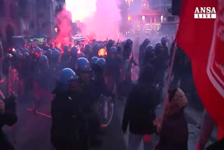 Salvini a Roma, citta' blindata