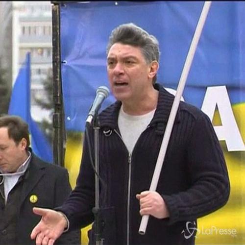 Russia, ucciso leader d'opposizione Boris Nemtsov