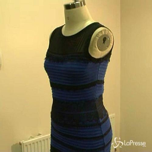 L'abito che fa impazzire il web: bianco e oro o azzurro e ...