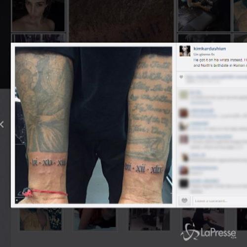 Nuovi tatuaggi per Kanye West