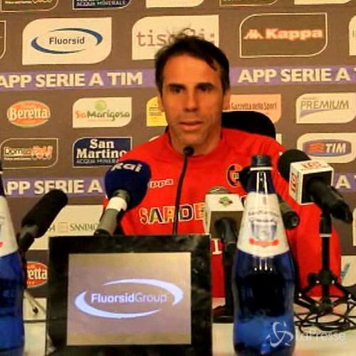 Calcio, Zola carica Cagliari: Con Verona scontro diretto, ...