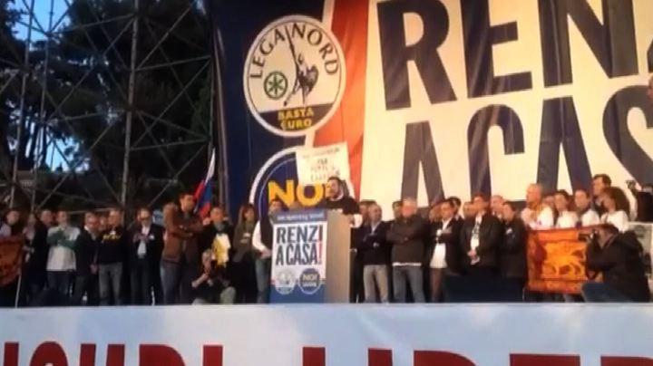"""Salvini: """"Grazie a Bossi che ci ha svegliato"""", e scatta ..."""