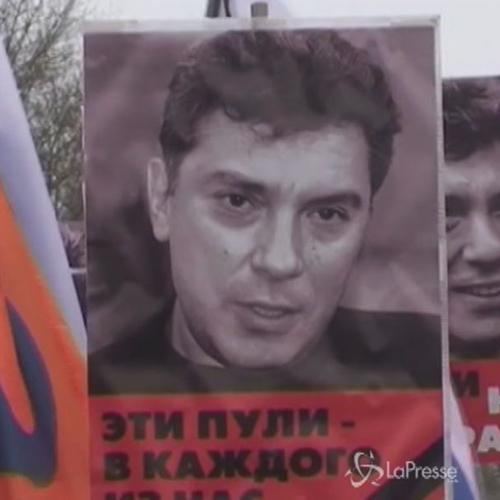 In 21mila a Mosca alla marcia per Nemtsov: cartelli 'Gli ...