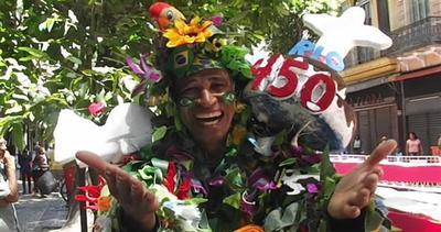 Rio compie 450 anni e festeggia con una torta gigante