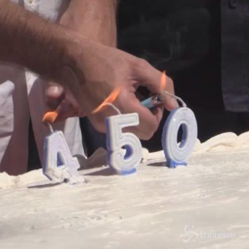 Rio de Janeiro festeggia 450 anni con torta gigante in ...