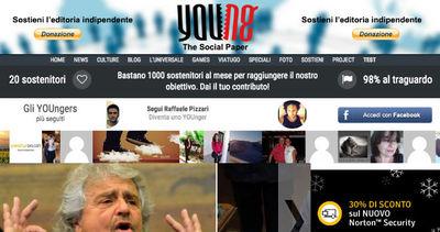 YOUng, il giornalismo partecipativo è online