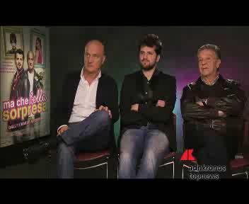 Cinema: Bisio, Matano e Pozzetto trio esilarante sul set di ...