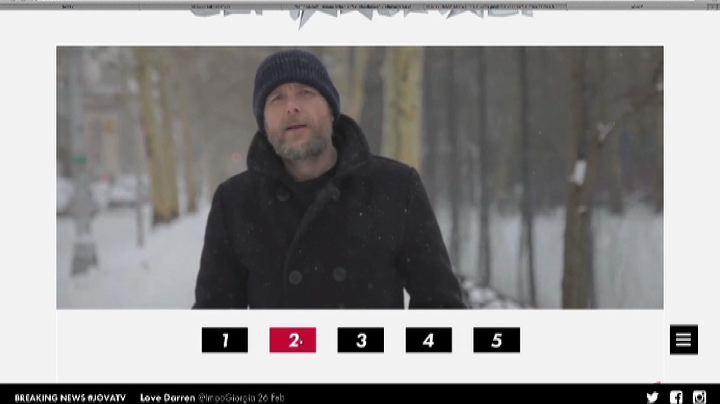 """Jovanotti nella NY deserta, video interattivo de """"Gli ..."""