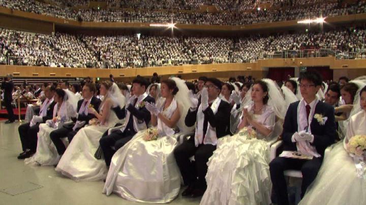Matrimonio di massa in Corea del Sud per 3.800 coppie