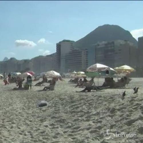 Allarme su spiagge di Rio de Janeiro: rischio infezioni per ...