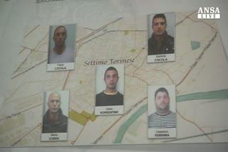 Cinquantadue rapinatori arrestati a Torino