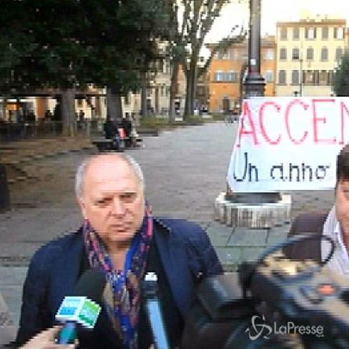 Firenze, fiaccolata in ricordo Magherini, ex calciatore ...