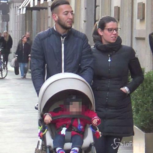 Giornata in famiglia a Milano per giocatore del Toro El ...