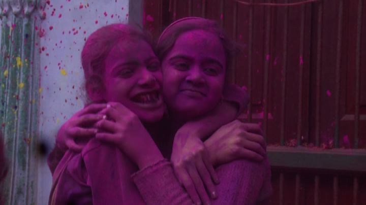 In India è Holi: festa colorata per vedove e bambini - ...