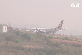 Nepal, paura per il volo della Turkish Airlines
