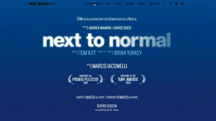 """Next to normal"" arriva in Italia da Broadway: debutto a ..."