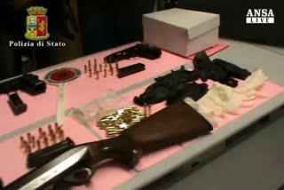Arsenale della camorra scoperto da Polizia nel Napoletano   ...