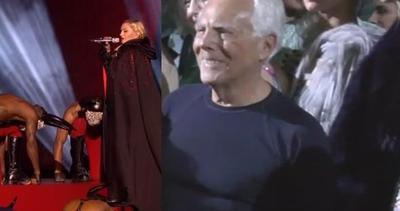 Giorgio Armani definisce Madonna una persona difficile