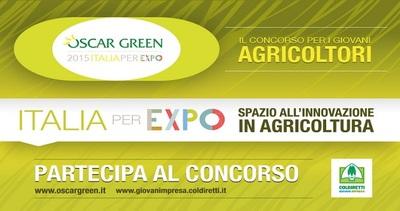 Innovazione in agricoltura;riparte Oscar Green