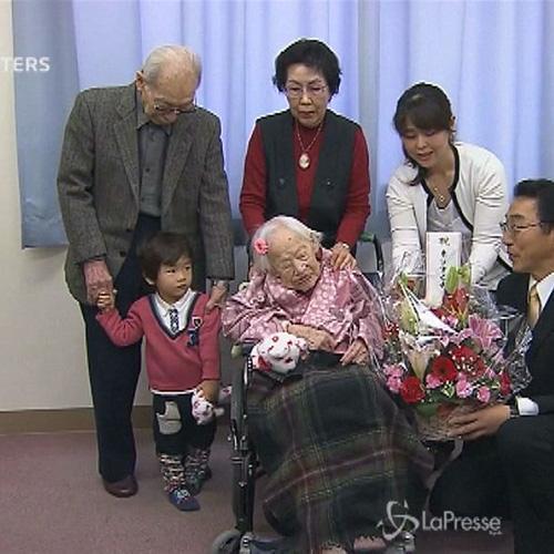 Misao Ohkawa, la persona più anziana del mondo, spegne 117 ...