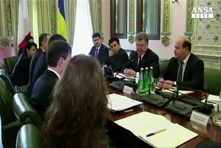 Renzi:impegno Italia per pace in Ucraina