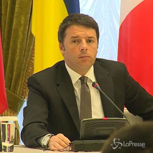 Ucraina, Renzi: Sforzo per rendere pienamente efficaci ...