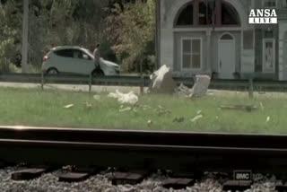 Su Ebay citta' set di 'The Walking Dead'