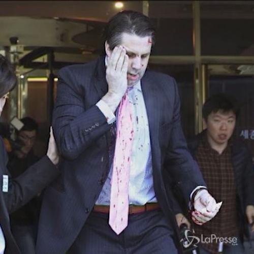 Ambasciatore Usa in Corea del Sud aggredito: ferito al ...