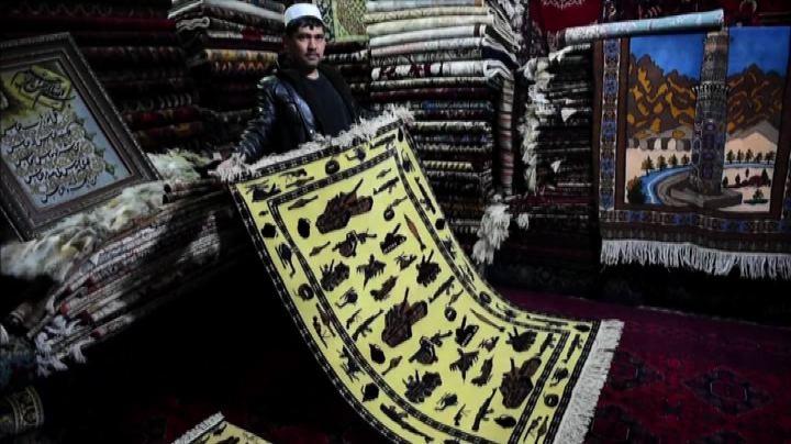 """Afghanistan, sui """"tappeti di guerra"""" le cicatrici della ..."""