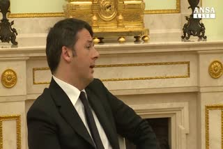 Renzi incontra Putin al Cremlino
