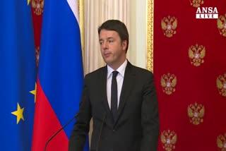 Faccia a faccia Renzi-Putin al Cremlino