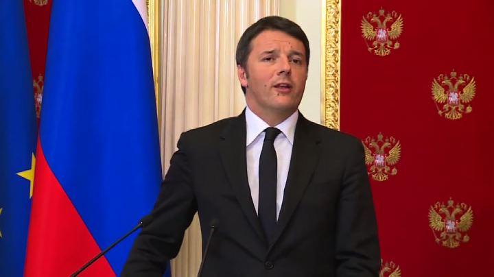 Renzi: Russia ha sostenuto sin da primo giorno Expo 2015    ...