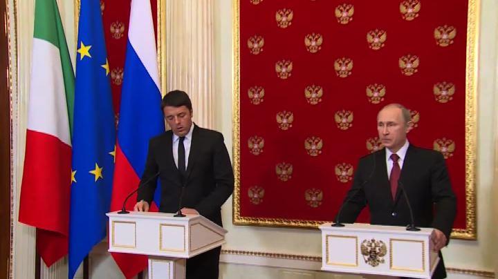 Renzi: ruolo Russia a Onu può essere decisivo su Libia     ...