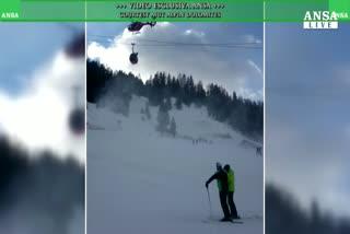 Albero su cabinovia, tragedia sfiorata in Val Gardena