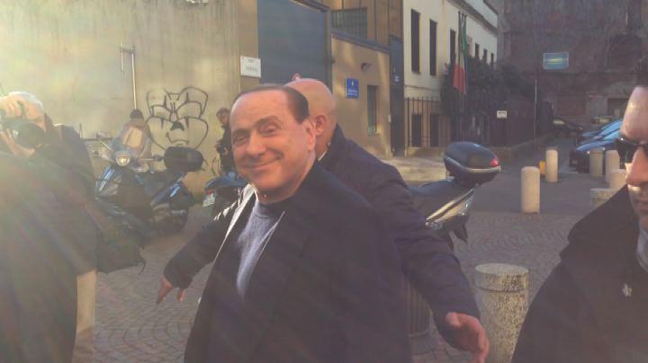 Berlusconi: l'incontro con Salvini è stato simpatico e ...