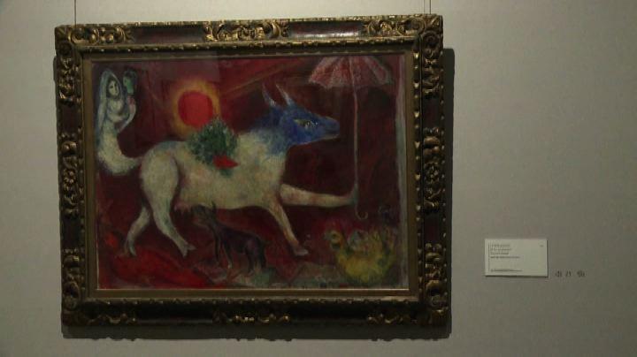 Retrospettiva Chagall a Bruxelles, anche l'Apocalisse in ...