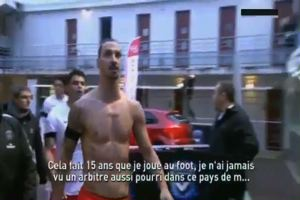 "Ibrahimovic: ""Paese di merda, non merita il Psg"""