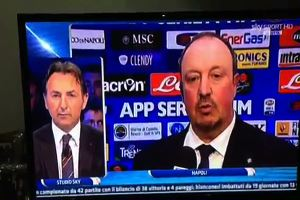 Il Napoli pareggia: ancora scintille tra Mauro e Benitez